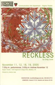 Reckless's Poster
