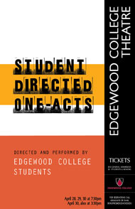 Student Directed One Acts's Poster