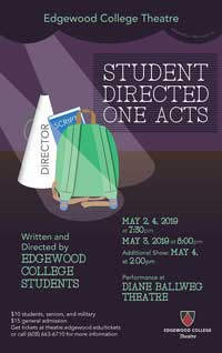 The Student-Directed One-Acts's Poster