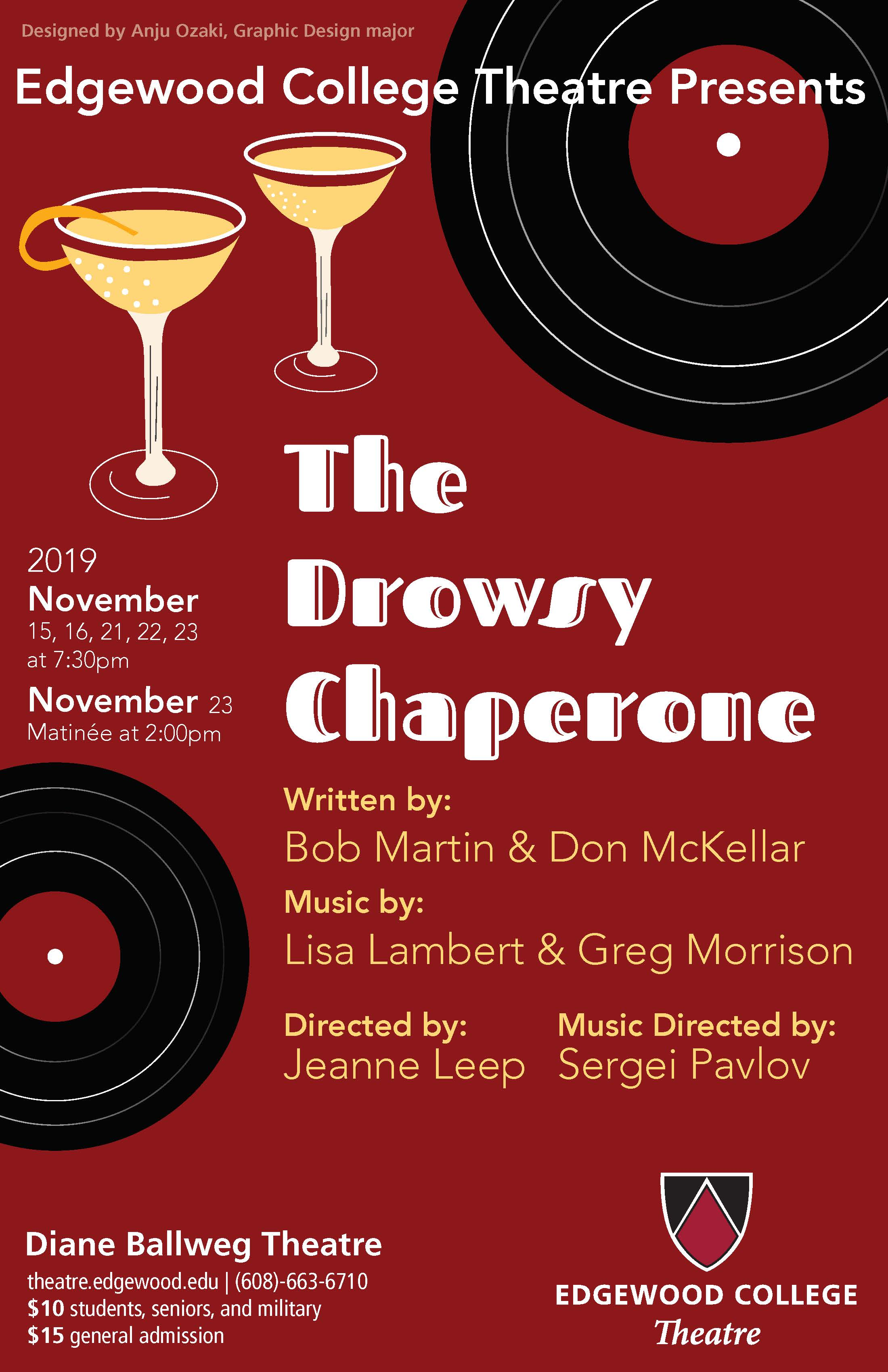 The Drowsy Chaperone's Poster