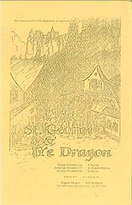 St. George and the Dragon's Poster