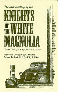 Last Meeting of the Knights of the White Magnolia's Poster