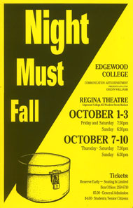 Night Must Fall's Poster