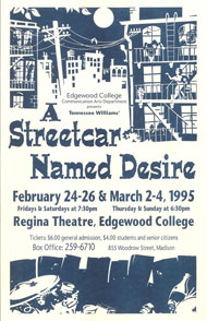 A Streetcar Named Desire's Poster