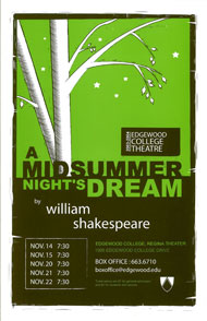 A Midsummer Night's Dream's Poster