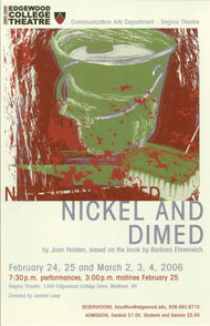 Nickel and Dimed's Poster