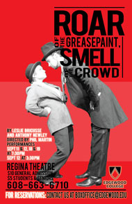 Roar of the Greasepaint, Smell of the Crowd's Poster