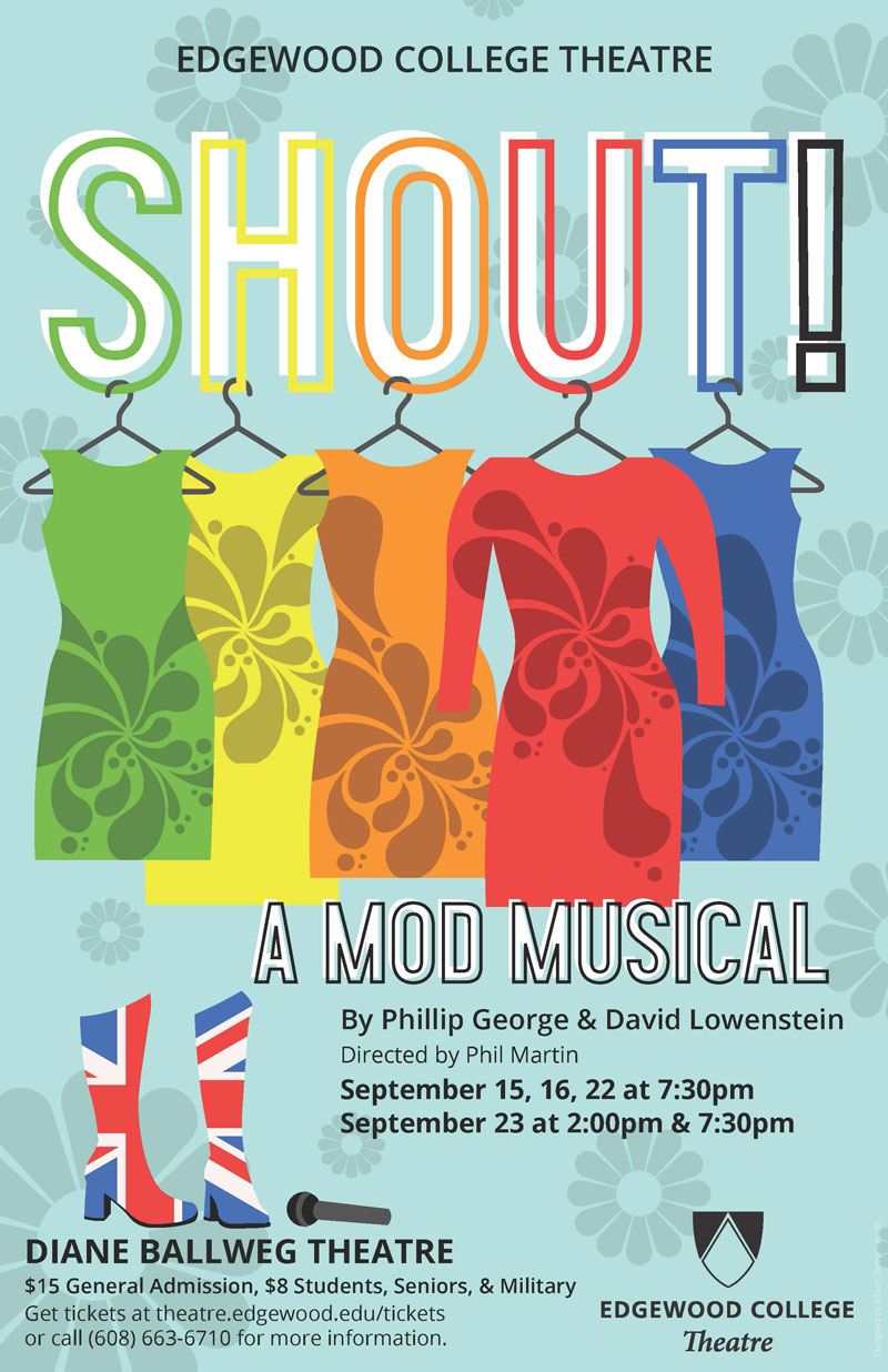 SHOUT! The Mod Musical's Poster