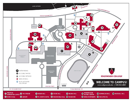 edgewood campus map